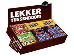 Mars Chocolade Bestsellersbox (doos 49 stuks)