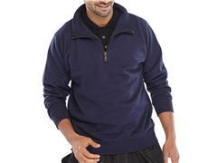 Click Sweatshirt Met Rits marine XXL