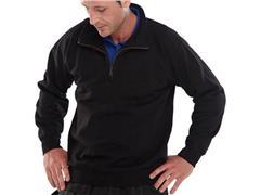 Click Sweatshirt Met Rits zwart XXL