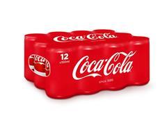 Coca-Cola Regular, Frisdrank, 0,15 l, Blik (pak 24 x 15 centiliter)