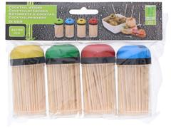 Cocktail Sticks, Bamboe (pak 600 stuks)