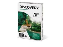 Discovery Papier voor Laser, Inkjet en Kopieer A4, 75 g/m², Wit (doos 5 x 500 vel)