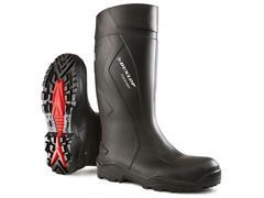 Dunlop Protective Footwear Purofort+® Wellington Laarzen, Volledige Bescherming, Maat 49, Zwart (paar 2 stuks)