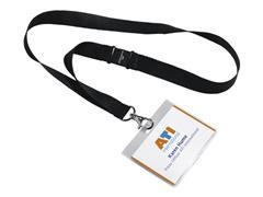 Durable Badge 60 x 90 mm met textielkoord (pak 5 stuks)