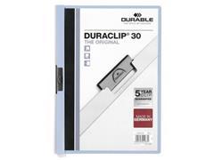 Durable Klemmap Duraclip® 1-30 vel, lichtblauw (pak 25 stuks)