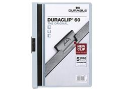 Durable Duraclip® Klemmap A4, 1-60 vel, Lichtblauw (pak 25 stuks)