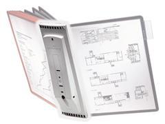 Durable Zichtpaneel wandhouder Sherpa® Display Houder exclusief zichtpanelen