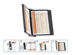 Durable Zichtpaneel wandhouder Sherpa® Style Inclusief 10 zichtpanelen