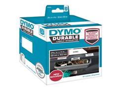 Dymo LW Adreslabels, Papier, 59 x 102 mm, Zwart op Wit