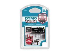 Dymo D1 Labelcassette, 12 mm x 3 m, Wit op Zwart