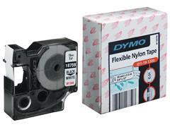 Dymo Rhino Polyester Etikettencassette, 19 mm x 3,5 m, Zwart op Wit