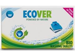 Ecover Wasmiddeltablet, fris 32 tabletten wit (doos 32 stuks)