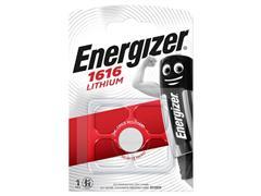 Energizer CR1616 Knoopcel Batterij, diameter 16 mm, 3 V