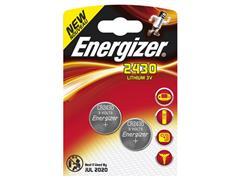 Energizer CR2430 Knoopcel Batterij, diameter 24 mm, 3 V (pak 2 stuks)