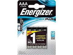 Energizer Energizer Max Plus AAA Batterij (blister 4 stuks)