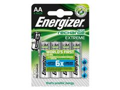 Energizer Extreme Rechargeable Batteries, AA / NH15 2300 mAh, Blister Pack of 4, Pre-Charged (pak 4 stuks)