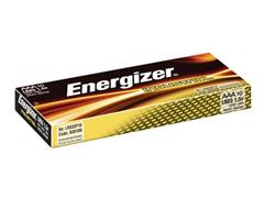 Energizer Industrial AAA Batterij, 1,5 V (pak 10 stuks)