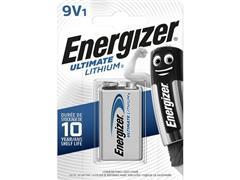 Energizer Lithium Batterij, 9 V