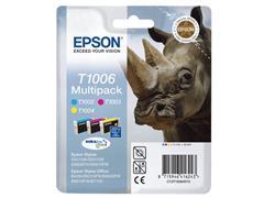 Epson T1006 Inktcartridge, Mulitpack, Kleur (pak 3 stuks)