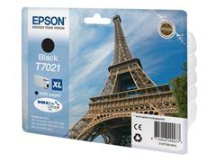 Epson T7021 Toner, single pack, zwart