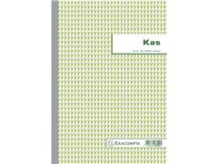 Exacompta NCR Kasboek, A4, Nederlands, 50 vel, Groen (pak 5 stuks)