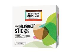 FAIR TRADE ORIGINAL Suikersticks, Rietsuiker (pak 600 stuks)