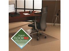 Floortex Cleartex® ULTIMAT Vloermat, Rechthoekig, 1190 mm x 890 mm, Transparant