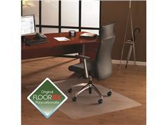 Floortex Cleartex® ULTIMAT Vloermat Voor Harde Vloeren, Polycarbonaat, 1200 x 900 mm