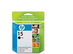 HP 15 Inktcartridge, Zwart