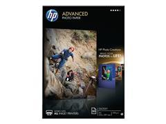 HP Advanced Fotopapier voor Inkjet A4 250 g/m² Wit Glanzend 50 vel (pak 50 vel)