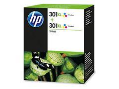 HP 301XL Inktcartridge, Kleur (pak 2 stuks)