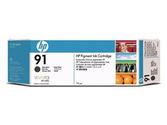 HP 91 Inktcartridge, Mat Zwart