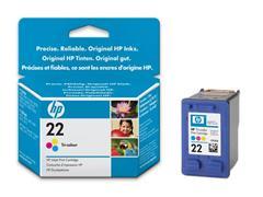 HP 22 Inktcartridge, Kleur