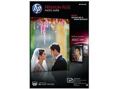 HP Premium Plus Fotopapier voor Inkjet 100 x 150 mm 300 g/m² Wit Glanzend 50 vel (pak 50 vel)