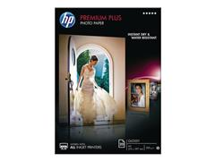 HP Premium Plus Fotopapier voor Inkjet A4 280 g/m² Wit Glanzend 20 vel (pak 20 vel)