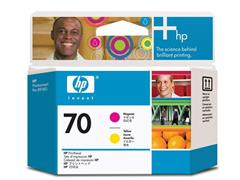 HP Printkop 70 Single Pack C9406A geel, magenta