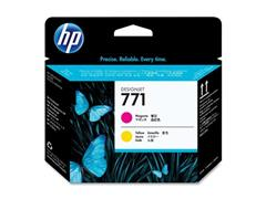 HP Printkop 771 Single Pack CE018A geel, magenta