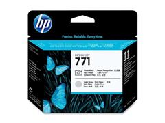 HP Printkop 771 Single Pack CE020A fotozwart, licht grijs