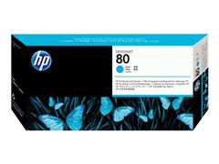 HP Printkop 80 Single Pack C4821A cyaan
