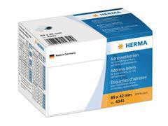 Herma Adresetiketten, 89 x 42 mm, 250 stuks (rol 250 stuks)