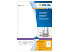 Herma Rugetiketten 192x61 mm, wit (pak 400 stuks)