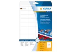 Herma Weerbestendige folie etiketten 210x297 mm, 4698 (pak 25 stuks)