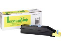 KYOCERA TK 865 Toner, Geel