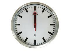 Unilux Station Klok, Radiografisch, Diameter 30 cm, Grijs