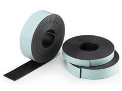 Legamaster Magneetband zelfklevend Afmeting: 12,5 mm x 3 meter (rol 3 meter)