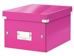 Leitz Archiefdoos Click & Store klein Roze