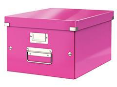Leitz Archiefdoos Click & Store middelgroot Roze