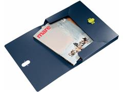 Leitz Documentenbox Re:cycle 1-300 vel, donkerblauw (doos 5 stuks)