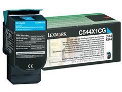 Lexmark C544 Toner, Cyaan