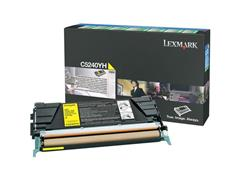 Lexmark C524 Toner, Geel